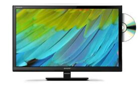 NEW SHARP LC-24DHE4011K 24-INCH HD TV WITH FREEVIEW AND BUILT IN DVD PLAYER