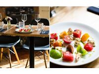 Experienced Front of House team members required - Modern British restaurant & bar - South London