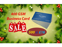 Premium Business Cards - Matt Laminated