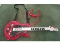ELC electric guitar and headset