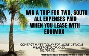 ENTER TO WIN TRIP SOUTH BY RENTING WITH EQUIMAX - BOSS PLAZA