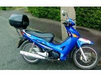 Honda innova 125 cc on road motorbike