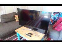 "SCREEN DAMAGED!! UE46F6400AKXXU Samsung 46"" 3D Smart Tv For Parts"