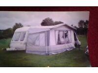 4to5 bed caravan tourer with accessories