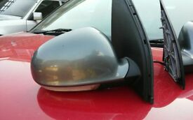 VW Golf MK5 2003 - 2008 NS Passenger Left & Right OS Grey Electric Wing Mirror