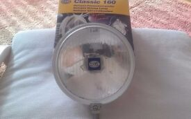 CHROME SPOTS LIGHTS MINT CONDITION IDEAL FOR SCOOTER VESPA OR LAMEY