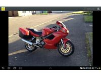 Ducati ST2 in great condition ready for touring with panniers and spare seat with carrier
