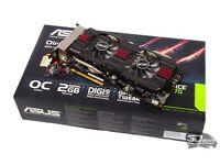 Asus GeForce GTX 770 DirectCU II OC 2GB PCI-E Graphics Card / Video Card / GPU