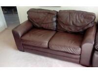 Leather sofa finest Italian leather