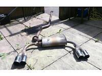 106 gti Powerflow exhaust