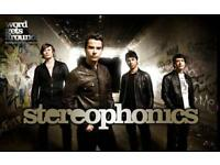 STEROPHONICS tickets x 2