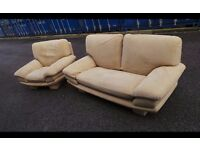 Designer Roche Bobois two seater sofa With Armchair,Possible Delivery