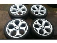 GENUINE 18 FORD FOCUS ST 225 ALLOY WHEELS TRANSIT CONNECT MONDEO 5 X 108 GALAXY