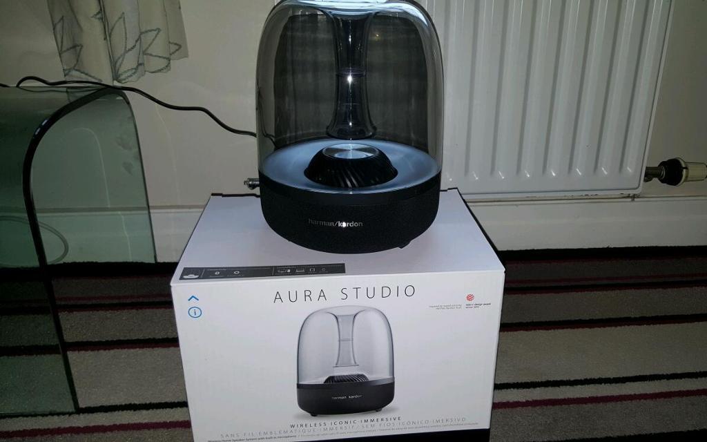 harman kardon aura studio wireless speaker in lytham st. Black Bedroom Furniture Sets. Home Design Ideas