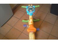 V tech bounce and ride giraffe in used but good clean working order
