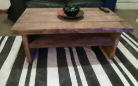 Coffee tables and TV media units rustic