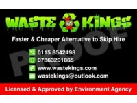 WASTE DISPOSAL SERVICE/RUBBISH REMOVAL/HOUSE CLEARANCE/GARDEN CLEARANCE