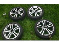 Audi A3 s line 2013-16 18 inch alloys Genuine
