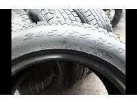 195x65x15 - 205/60/16 -205/55/16 - part worn winter tyres in stock sets & pairs