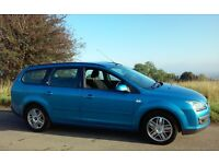 2006 FORD FOCUS 2.0 GHIA ESTATE MOT & TAX SERVICE HISTORY DRIVES LOVELY