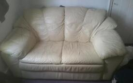 FREE 2 Seater Leather Soga