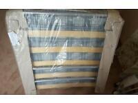 New fold away single bed and mattress