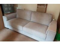Sofa two / three seater , Light grey