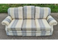Beautiful, Clean and Comfy 3 Seater Fabric Sofa