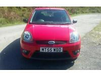 Ford fiesta zetec s low milliage