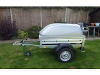 Brenderup 1150s Car trailer +lockable Abs lid