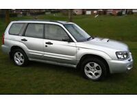 2003 SUBARU FORESTER 2.0 XT TURBO ESTATE AWD 4 x 4 SERVICE HISTORY 1 YEARS MOT