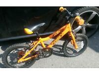"CUDA 16"" wheel childrens bike."