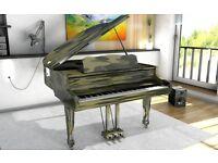 Tesoro Nero - Personalised Baby Grand Piano - Summer Sale 20% Off!!!