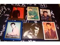 6 small wall Elvis Presley pic photos
