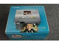 Cannon selphy photo printer