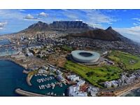 2 return flights, London- Cape town, 11 Dec- 29 Dec