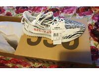 Yeezy Boost 350 V2 Zebra Mens Trainers - Size 12