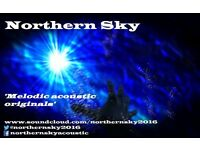 Singer wanted in Skipton area for acoustic originals and covers