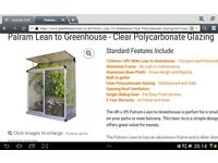 Lean to greenhouse 4ft x 2ft new in box
