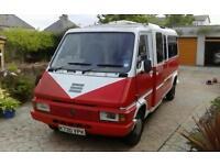 Renault master campervan project 1993