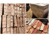 Clay Cut Red Bricks