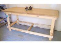 Handmade Solid Workbench