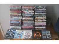 Job lot of dvds 80 in total all too many to name