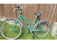 Ladies bike Raleigh in good condition and working fully.