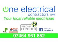 Domestic & Commercial Electrical Contractors.