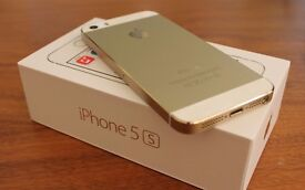 iPhone 5S - Gold - 16GB - EE - Boxed