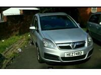 Vauxhall zafira 1.6 petrol 12 months MOT