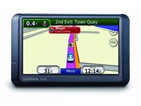 Cheap Garmin 4.3 Inch Wide screen Sat Nav UK & IRE Easy To Use With Charger Dash Mount