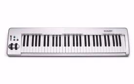 M Audio Keystation 61es (Grey) USB MIDI Keyboard