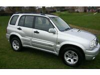 2004 SUZUKI GRAND VITARA 2.0 TD DIESEL MOT 1 OWNER 5 DOOR HATCH FULL HISTORY 4 x 4 DRIVES LOVELY